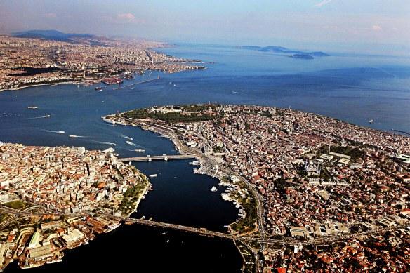 Стамбул -Исторический полуостров