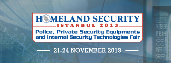 HOMELAND SECURITY 2013 | Стамбул 14-17 ноября 2013