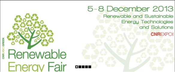 RENEWABLE ENERGY FAIR 2013 | Стамбул, 5 - 8 декабря 2013 года