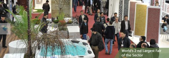 выставка UNICERA, посвященная керамике и ванной комнате в Стамбуле